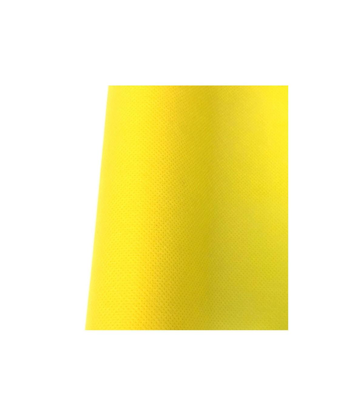 Chemin De Table Intisse Jaune Citron Uni Couleur Jaune