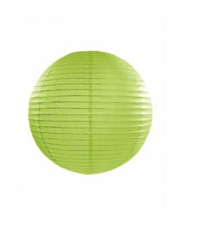 Lanterne en papier chinois boule deco Vert Olive