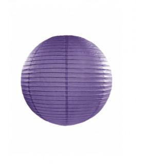 Lanterne en papier chinois boule deco Violet