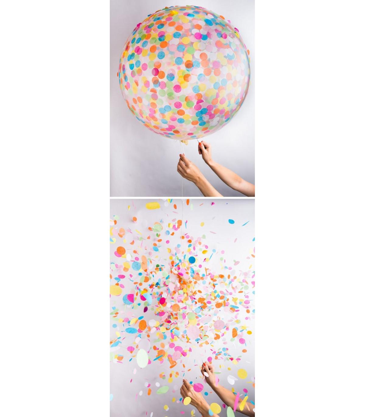 Confettis deco animation multicolore 21mm couleur multicouleur - Deco table multicolore ...