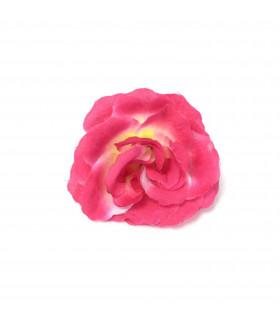 Fleurs artificielles deco 6cm Fuchsia 4 pcs