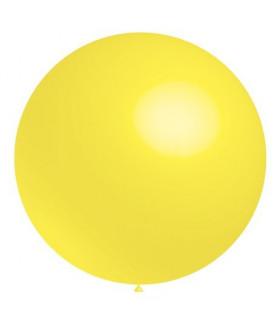 Ballon  Géant rond deco salle Jaune