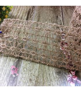 Ruban en fibre naturelle 6.5cm x 1m