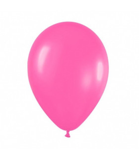 Ballon opaque sachet de 100 deco salle Rose