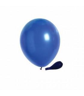 Ballon opaque sachet de 50 deco salle Bleu