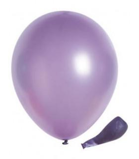 Ballon opaque sachet de 50 deco salle Lilas