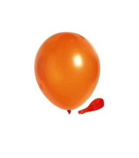 Ballon opaque sachet de 50 deco salle Orange
