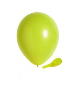 Ballon opaque sachet de 50 deco salle Vert Lime