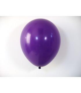 Ballon opaque sachet de 50 deco salle Violet