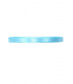 Ruban satin 6mm  23m Bleu Ciel