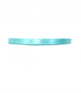 Ruban satin 6mm  23m Bleu Pastel