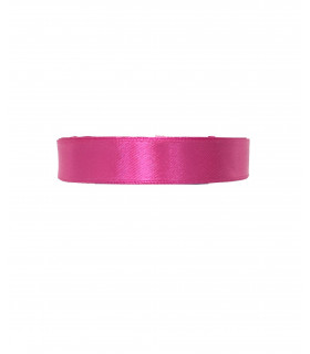 Ruban satin 15mm  22m Fuchsia