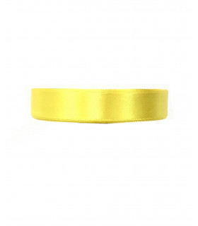Ruban satin 15mm  22m Jaune