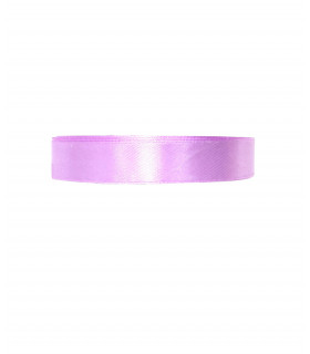 Ruban satin 15mm  22m Lilas