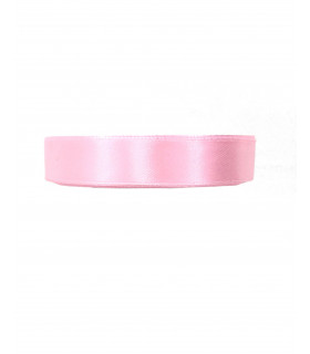 Ruban satin 15mm  22m Rose