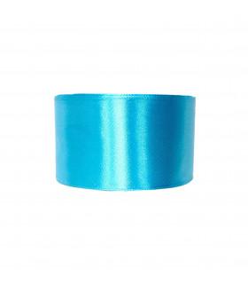 Ruban satin 50mm  22m Bleu