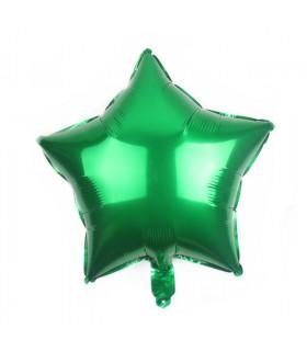 Ballon Géant étoile 45cm anniversaire Vert