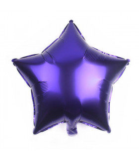 Ballon Géant étoile 45cm anniversaire Violet