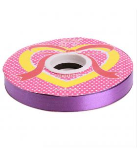 Ruban ballon, emballage cadeaux 12mm  28m Violet