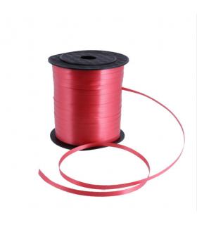 Ruban ballon, emballage cadeaux 5mm  230m Rouge