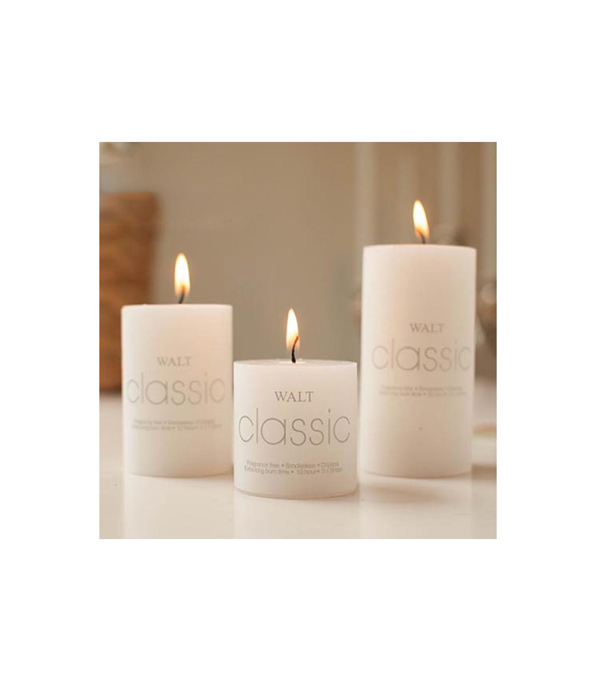 Bougie Décoration De Table bougie décoration premium h 20cm couleur ivoire centre de