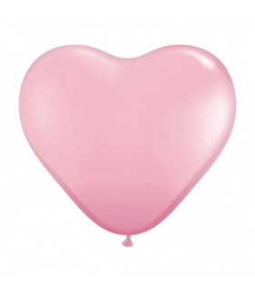 Ballon coeur Rose 100pcs