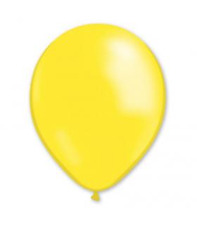 Ballon latex Jaune 28cm 100pcs