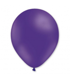 Ballon latex Violet 28cm 100pcs