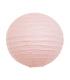 Lanterne en papier chinois boule deco Rose Poudré