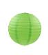 Lanterne en papier chinois boule deco Vert Pomme