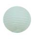 Lanterne en papier chinois boule deco Bleu clair