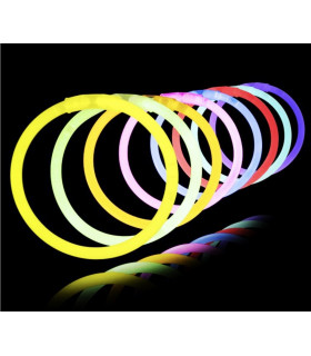 Bracelets Fluo lumineux premium glow stick