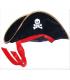Déguisement Chapeau de pirate Noir