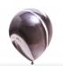 Ballons marbrés 30cm Noir 12pcs
