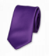 Cravate Violet Polyester satin