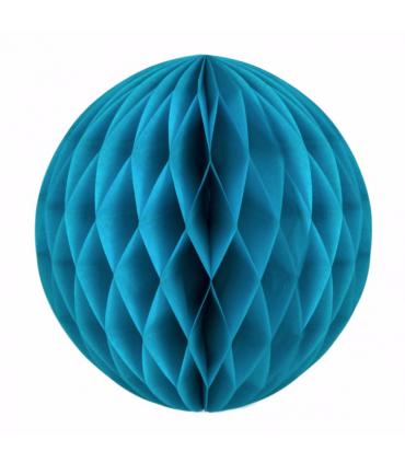 boule alv ol e en papier bleu azur couleur bleu diam tre 20 cm. Black Bedroom Furniture Sets. Home Design Ideas