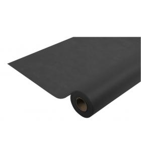 Nappe de table Spunbond noire épaise 25m