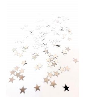 Confettis de table Etoile 10mm Argenté