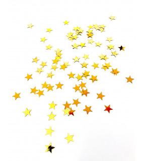 Confettis de table Etoile 10mm Doré