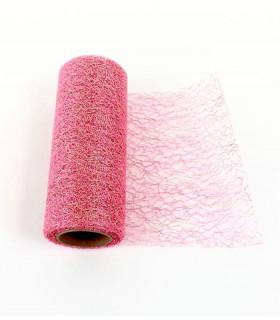 Ruban Large Glitter en rouleau 15cm x 9m Rose Doré