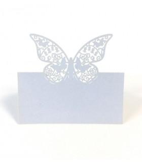 Marque Place table de fête modèle grand papillon Ivoire 20 pcs