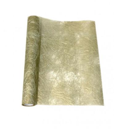 chemin de table fanon dor metallis couleur or. Black Bedroom Furniture Sets. Home Design Ideas