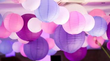 lanterne papier deco